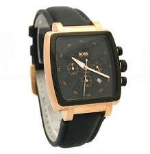 Orologio Hugo Boss Uomo Cronografo placcato oro gold chronograph watch 1512314
