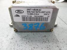 JAGUAR S TYPE ESP YAW RATE SENSOR X202 06/02-11/04 02 03 04 2M5T14B296AC