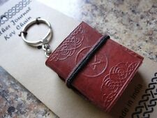 Pentagram Keychain Mini Journal ~ Wiccan Pagan Metaphysical Supply Diary 757