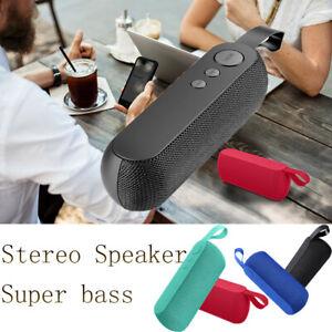 Portable Q106 Wireless Bluetooth Speaker Stereo Bass USB/TF/AUX/FM Radio