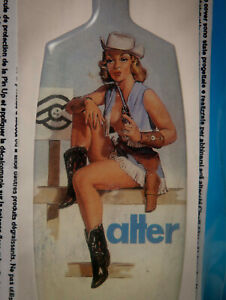CINELLI FUNNY ALTER 120/130mm STICKER PIN UP ADESIVO NUOVO cow girl