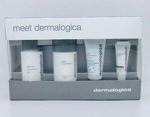 Dermalogica Meet Dermalogica 4 Piece Set NEW Damaged Box