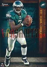 47 Michael Vick Philadelphia Eagles Falcons Steelers Fathead Tradeable 2012 NFL