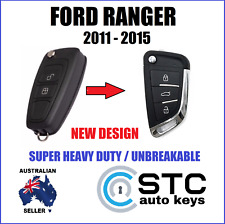 FORD RANGER PX 2011-2015  REMOTE FLIP KEY TRANSPONDER CHIP WE CAN CUT ANDPROGRA