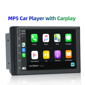 7'' 2Din IPS Screen Android 10.0 DSP GPS Carplay FM/AM/RDS Radio MP5 Player Kit