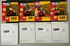 The Simpsons Exclusive Mail Away BE SHARPS Figures BARNEY APU HOMER SKINNER