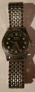 Vintage 1940s WW2 Rodana Etanche Automatic Antimagnetic Men's Watch