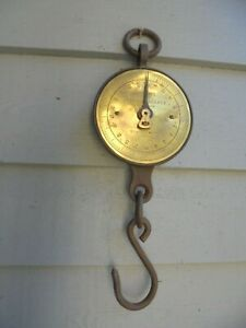 Vintage Salter hanging scales - postage available