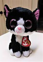 "Ty Beanie Boos  PEPPER the Cat Glitter/Sparkle Eyes 6""  New MWMT"
