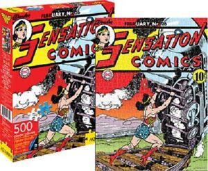 DC Comics Wonder Woman Comic Cover 500piece Jigsaw Puzzle
