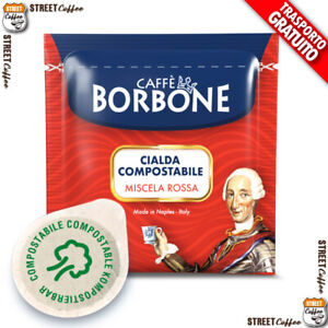 150 Cialde in Carta Caffè Borbone ESE 38 mm Miscela Rossa Red Filtrocarta gratis