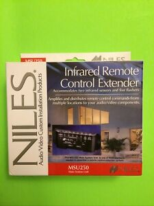 Niles MSU250 IR Infrared Remote Control Extender Main System Unit (NEW) READ