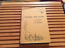 WINNIE THE POOH, A A Milne (1927), UK, **1st Edition, 5th Printing**