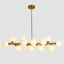 Modern 16 Light Round Glass LED Chandelier Pendant Lamp Ceiling lamp Fixture