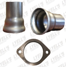 "3"" Ball Header Collector - 2½ OD:  2 Hole Flange"
