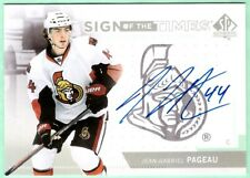 2013-14 SP Authentic Sign of the Times Jean-Gabriel Pageau autograph