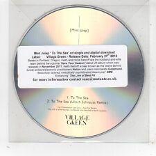(FV911) Mint Julep, To The Sea - 2012 DJ CD