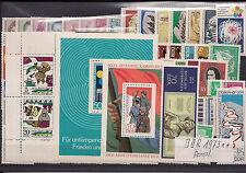 DDR Jahrgang 1973 komplett postfrisch