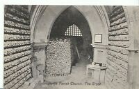 Kent Postcard - Hythe - Parish Church - The Crypt   2555