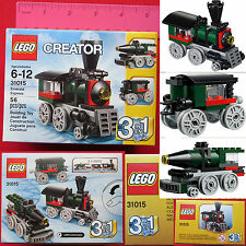 New LEGO CREATOR Emerald Express Train 56 Pcs Set 31015 Christmas Birthday Gift
