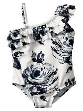 GAP Baby / Toddler Girl 12-18 Months Floral One-Piece Bathing Suit