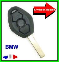 Coque Télécommande Plip Clé BMW Série Z4 E38 E39 E46 M5 M3 + Lame Vierge