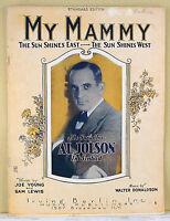 MY MAMMY from SINBAD w/ AL JOLSON (1918 BROADWAY MUSICAL)