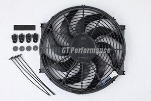 Ventilateur Extra Plat 375mm Universel 160W Ventilo Type Spal pour Radiateur