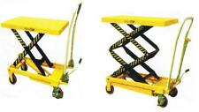 HIGH LIFT TABLE TRUCK CART  TROLLEY JACK PALLET HYDRAULIC LIFT SCISSOR DOLLY