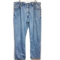 Levis 505 Mens Sz 36X30 Jeans Regular Fit Light Wash Inseam Measures 29 1/2