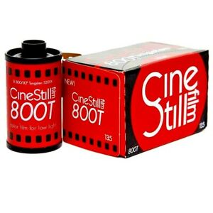 3 x Rolls CINESTILL 800T TUNGSTEN COLOR NEG Film--35mm/36 exps--expiry: 05/2021