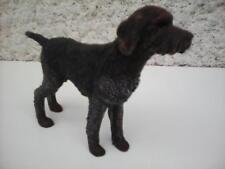 Figurine chien le drahthaar objet de collection 11 cm x 9 cm environ