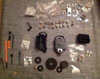 Quartz Clock Hands UTS Magnetic Movements Centres From Clockmakers Spare Parts