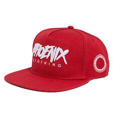 Phoenix Feu Casquette Snapback - Rouge Noir A Cap Bonnet Neuf Baseball Cappy
