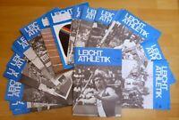 48x Leichtathletik Fachzeitschrift 1976 Sammlung alt Sport 70er Jahrgang 1-52