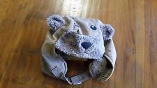 Dymples Brown Winter Bear Hat 50cm BNWOT free post D98
