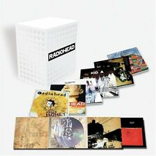 RADIOHEAD, 7 CD ALBUM BOX SET LTD ED (SEALED) + SUPERB OFFIC. LIVE DVD (SEALED)