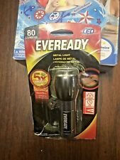 Eveready LED Metal Flashlight New Opened Package.