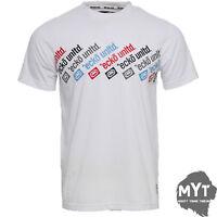New Ecko Unltd T-Shirt Multi Match Classic White Mens Shirt