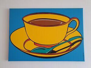 "Deborah Azzopardi - ""Yellow Coffee Cup"""