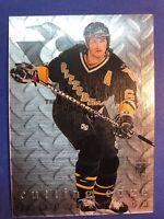 1995-96 Donruss Elite Cutting Edge#6 Jaromir Jagr 0672/2500 Penguins Insert SP