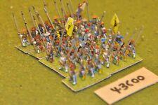 15mm renaissance / swiss - pikemen 40 figures - inf (43600)