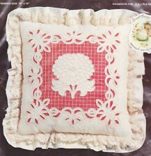 Charmin Ann Benson Pillow Chainstitching Kit Chrysanthemum by Janlynn