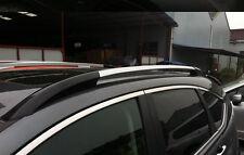 Black + Sliver Roof Rack Side Rails Bars Luggage Carrier For Honda CRV 2012-2016