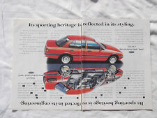EA or EB Ford Falcon S Original Advertisement removed from a magazine