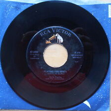 Elvis Presley Too Much & Playing For Keeps - I Beg of You & Don't - Silver Print