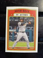 2021 Topps Heritage In Action #310 Puzzle D Josh Bell Pittsburgh Pirates