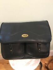 Jw Hulme Unbranded All Leather Magnum Messenger Bag Vguc