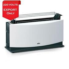 Braun HT550 Multiquick 5 Toaster 220-240 Volts 50/60Hz Export Only