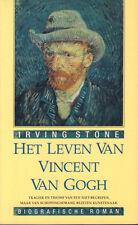 HET LEVEN VAN VINCENT VAN GOGH (BIOGRAFISCHE ROMAN) - Irving Stone